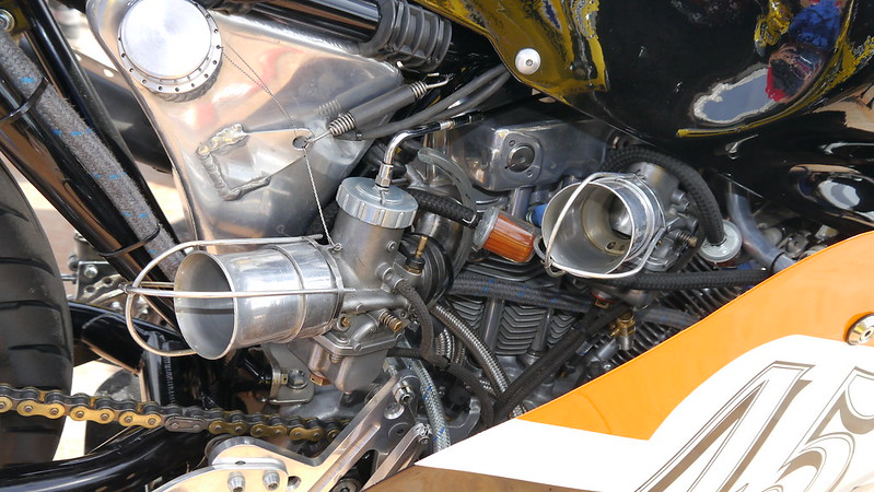 Harley Davidson XR TT Racer préparation par Phil Darcy Racing 28144428107_ac12ff251e_c