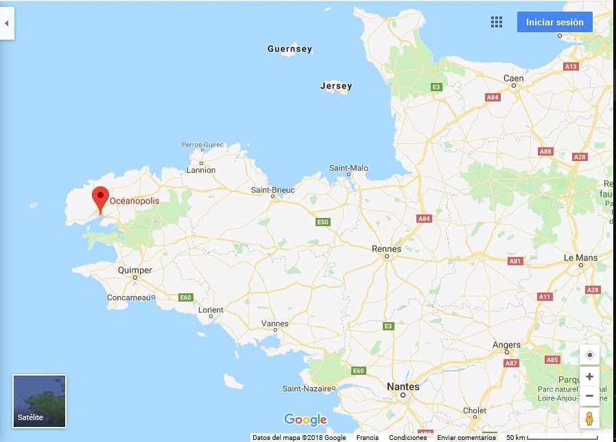 Oceanópolis de Brest