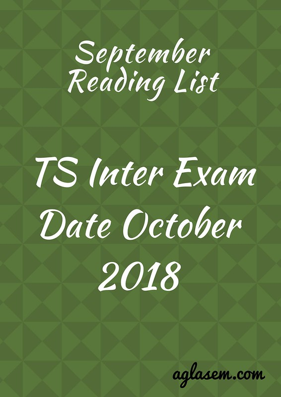 TOSS Inter Exam Date October 2018