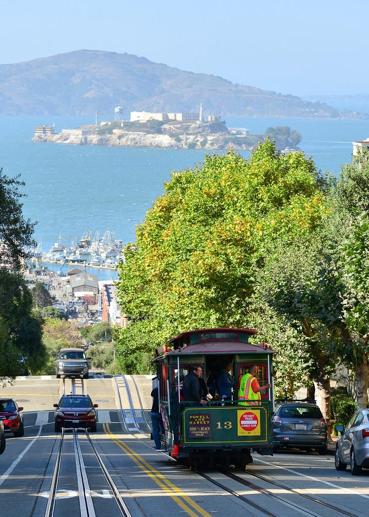 Hyde Street, posiblemente la calle con mejores vistas de San Francisco