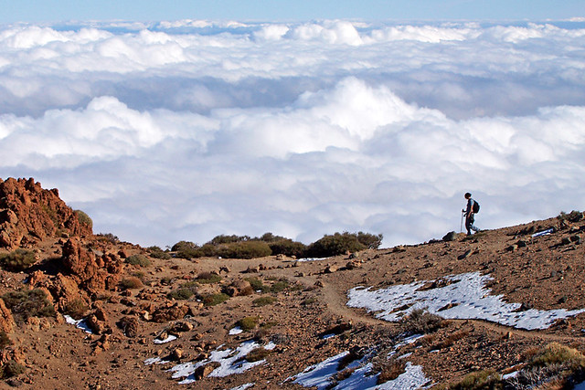 Sea of clouds, Tenerife
