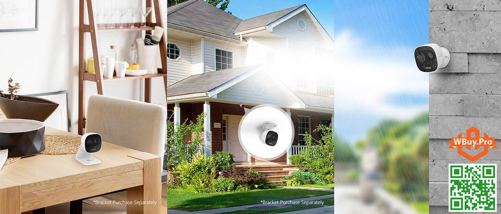 Camera Lechange Wifi LOOC dễ dàng lắp đặt trên mọi địa hình