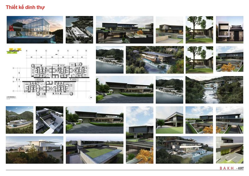 BAKHArchitecture thiết kế dinh thự