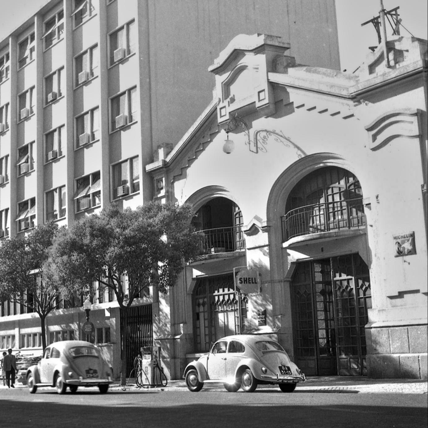 Shell, Rua Andrade Corvo (A.J. Fernandes, 1961)