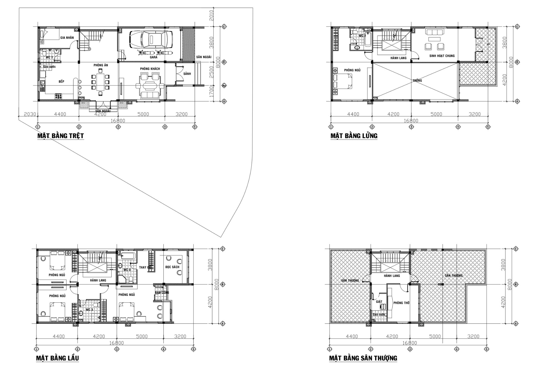 Thiết kế kỹ thuật mẫu D4 Villa Park