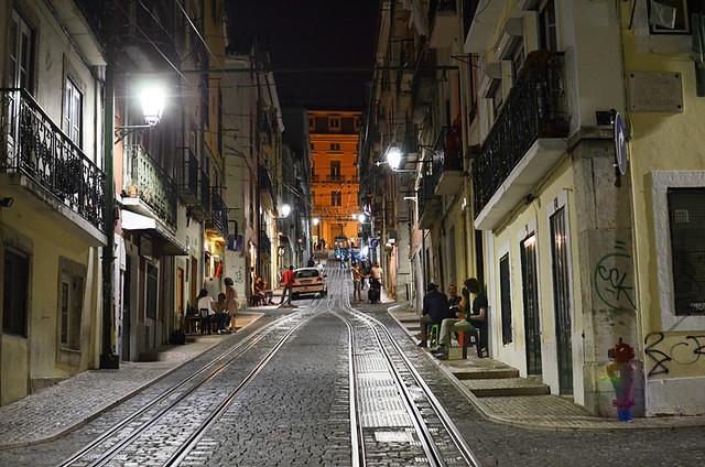 Bica, Bairro Alto, Lisbon, Portugal