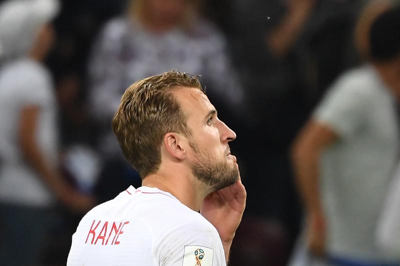 英格蘭隊長Harry Kane對準決賽吞敗感到相當失望。(AFP授權)