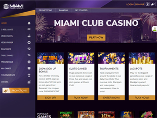 MiamiClub Casino Home