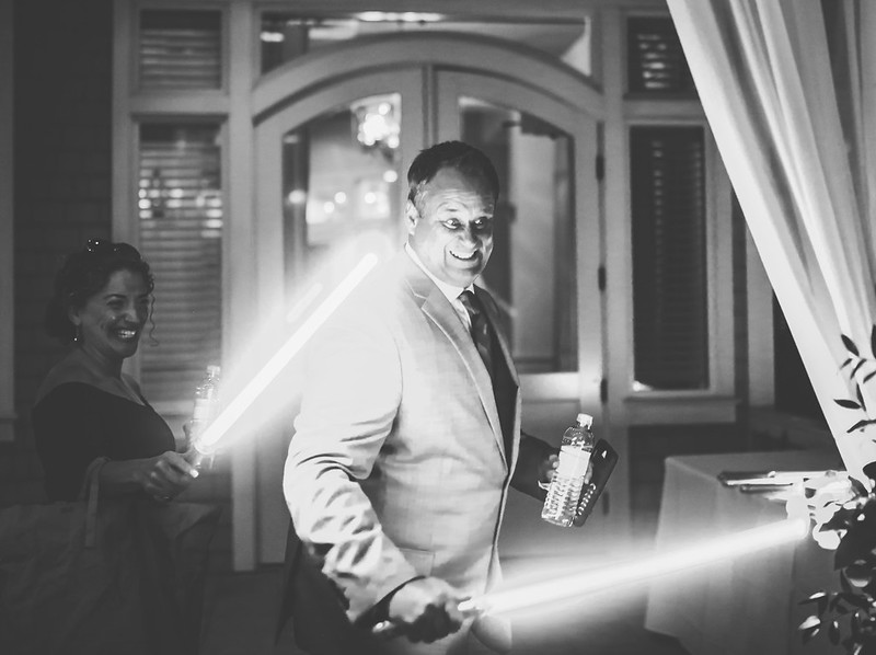 Light Saber Wedding Photography