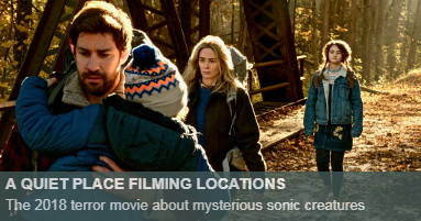 A quiet place Filming Locations