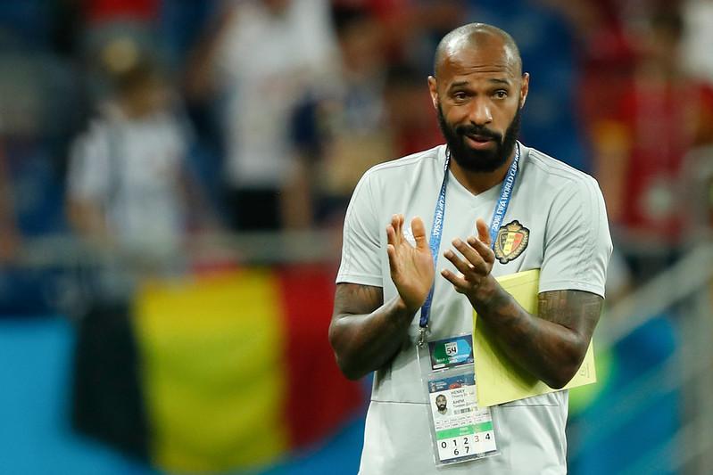 Thierry Henry贏得世界盃的經驗帶給比利時優勢。(資料照,AFP授權)