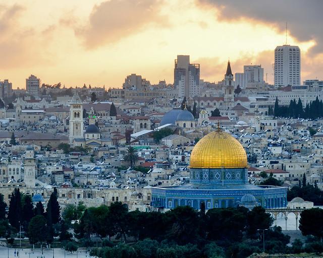 Jerusalén al atardecer