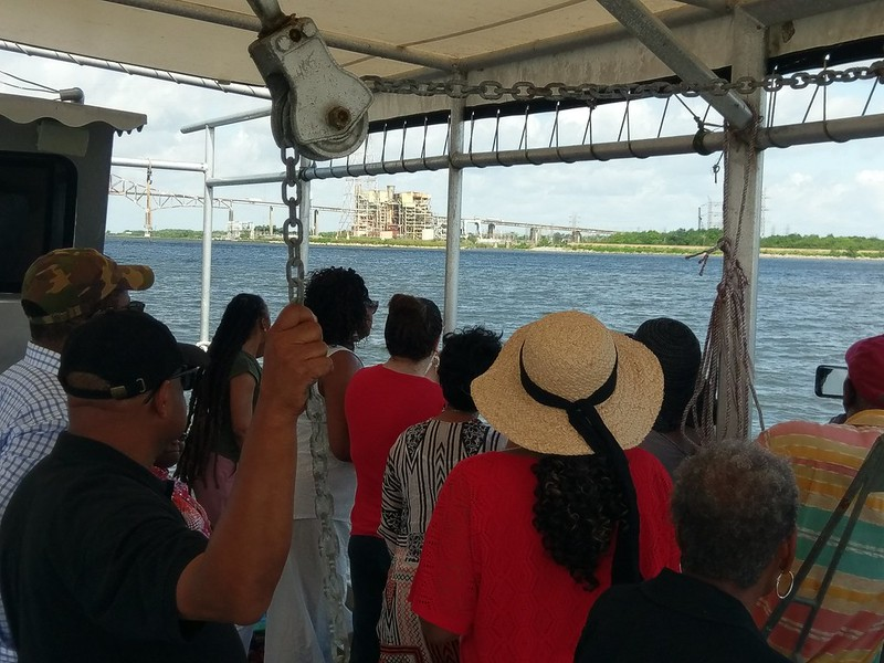 Water Equity Group discusses Entergy's history of flooding from an oyster boat in the MRGO channel