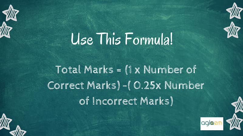 Calculate your marks with formula