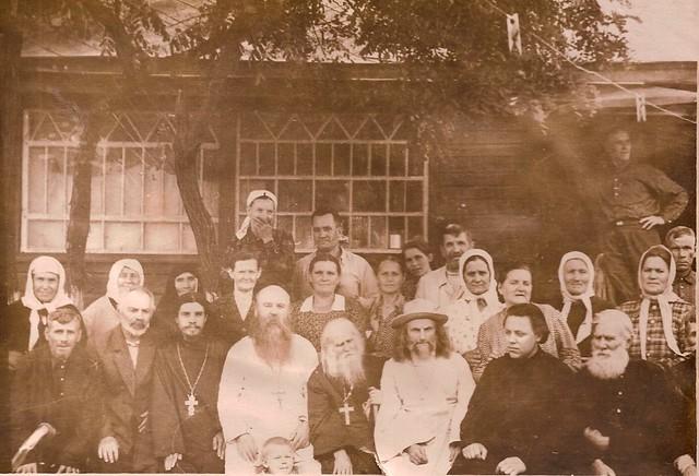 На Дне Ангела о.Иоанна Щербакова. 3 священника Петропавловкой церкви в 60-х годах