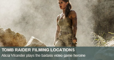 Where was Tomb Raider filmed