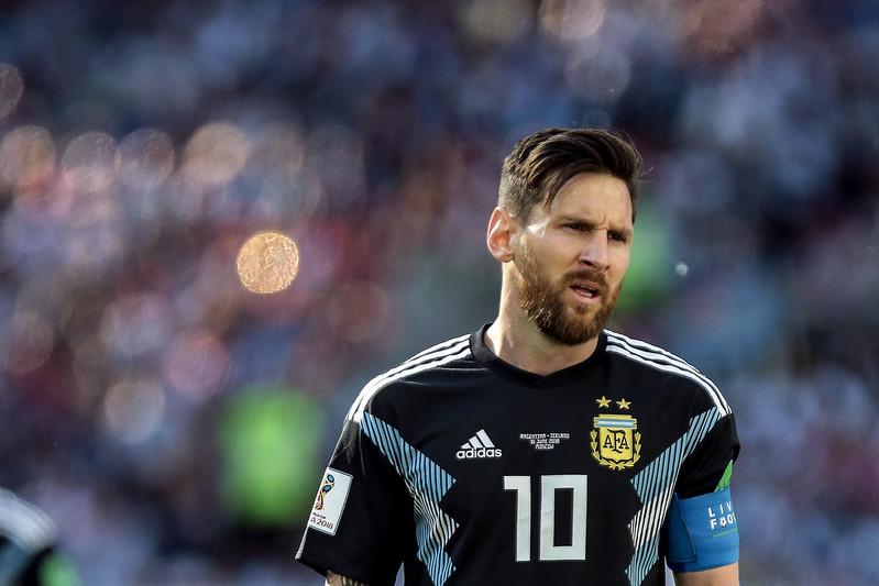 由Messi領軍的阿根廷與冰島戰成平手。(達志影像)