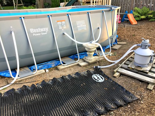 pool pump and heater