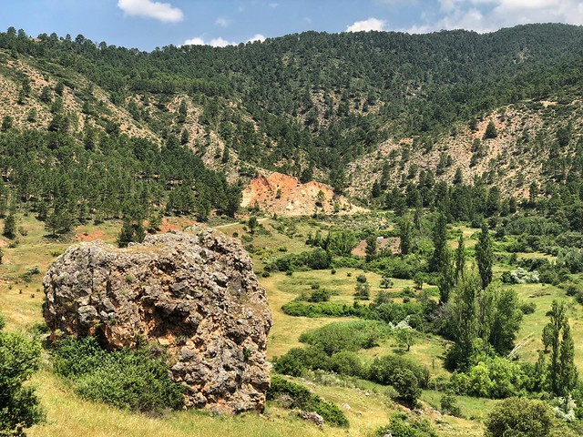 Paisaje de camino a Riópar viejo (Sierra del Segura y Alcaraz, Albacete)