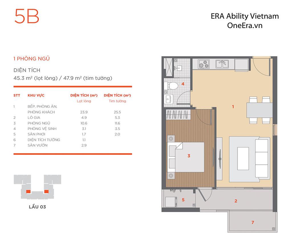 Mặt bằng tầng và thiết kế căn hộ Hausneo 56