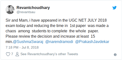 Will UGC NET 2018 Cut Off Dip Because Students Found Exam Lengthy?