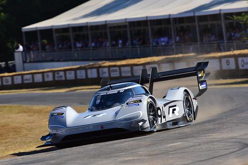 Romain Dumas, Volkswagen I.D. R Pikes Peak, Goodwood Festival of Speed 2018