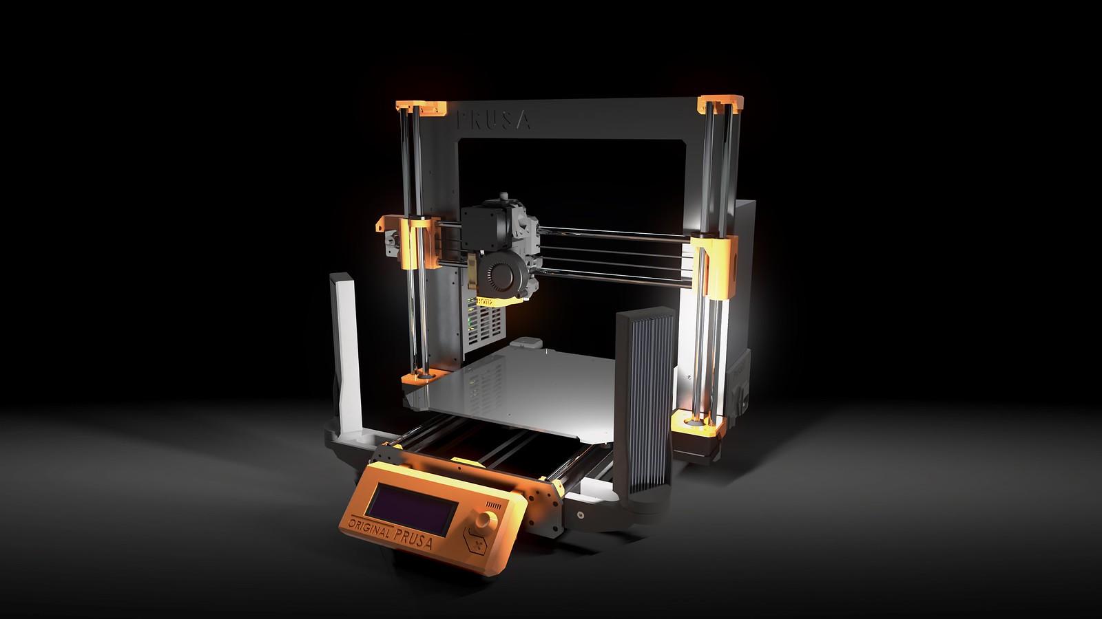 Custom Printarea lighting for Prusa MK3 and CR-10(S) - RC Groups