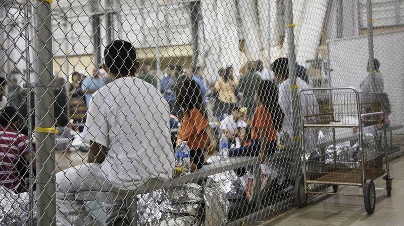 美国海关与边境保护局拘禁非法移民的机构。(图片来源:美国海关与边境保护局)