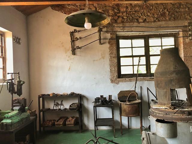 Museo de las Reales fábricas de bronce de Riópar (Sierra del Segura y Alcaraz, Albacete)