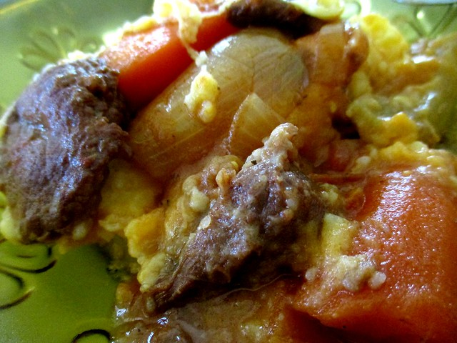 Beef stew filling