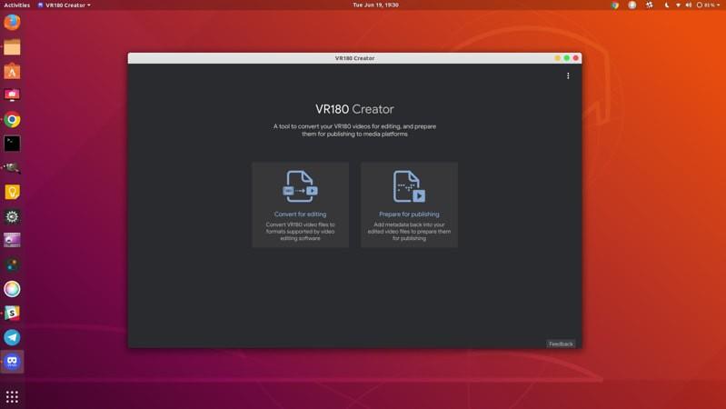 Крутой видеоредактор Google VR180 Creator для Windows