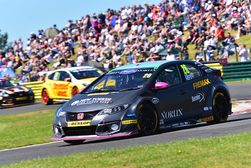 Daniel Lloyd, Honda Civic Type R, British Touring Car Championship, Croft 2018
