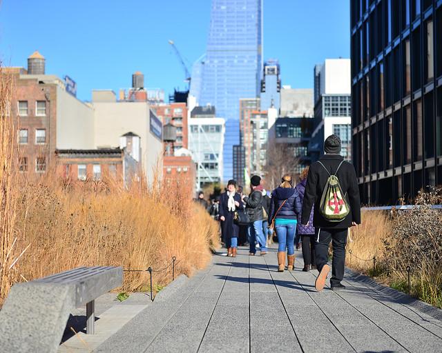 High Line, una de las visitas que hacer en Nueva York imprescindibles
