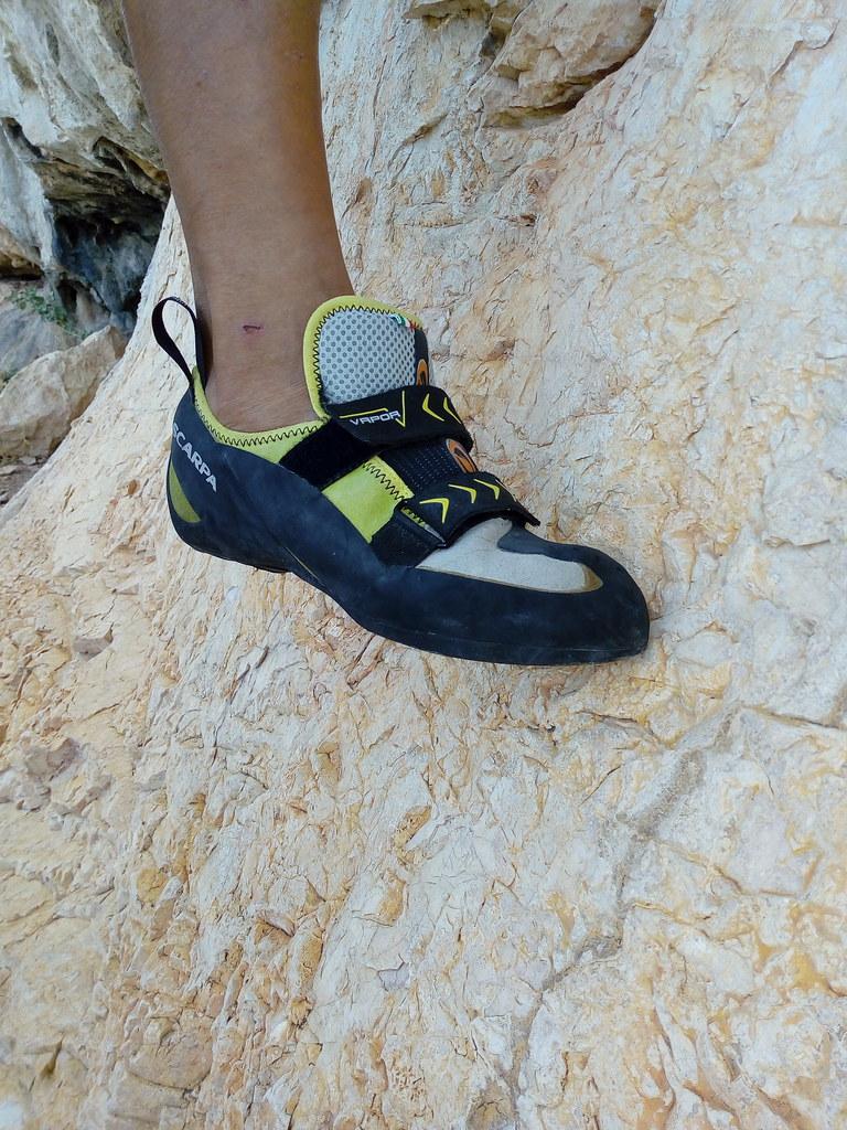 Το Vapor V είναι κατεξοχήν παπούτσι edging