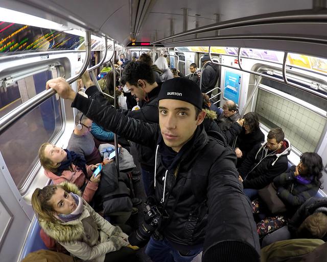 Diario de un Mentiroso en el metro de Nueva York