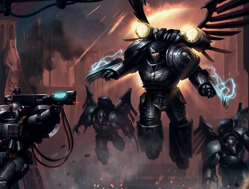 «Коракс: Повелитель теней», рисунок обложки
