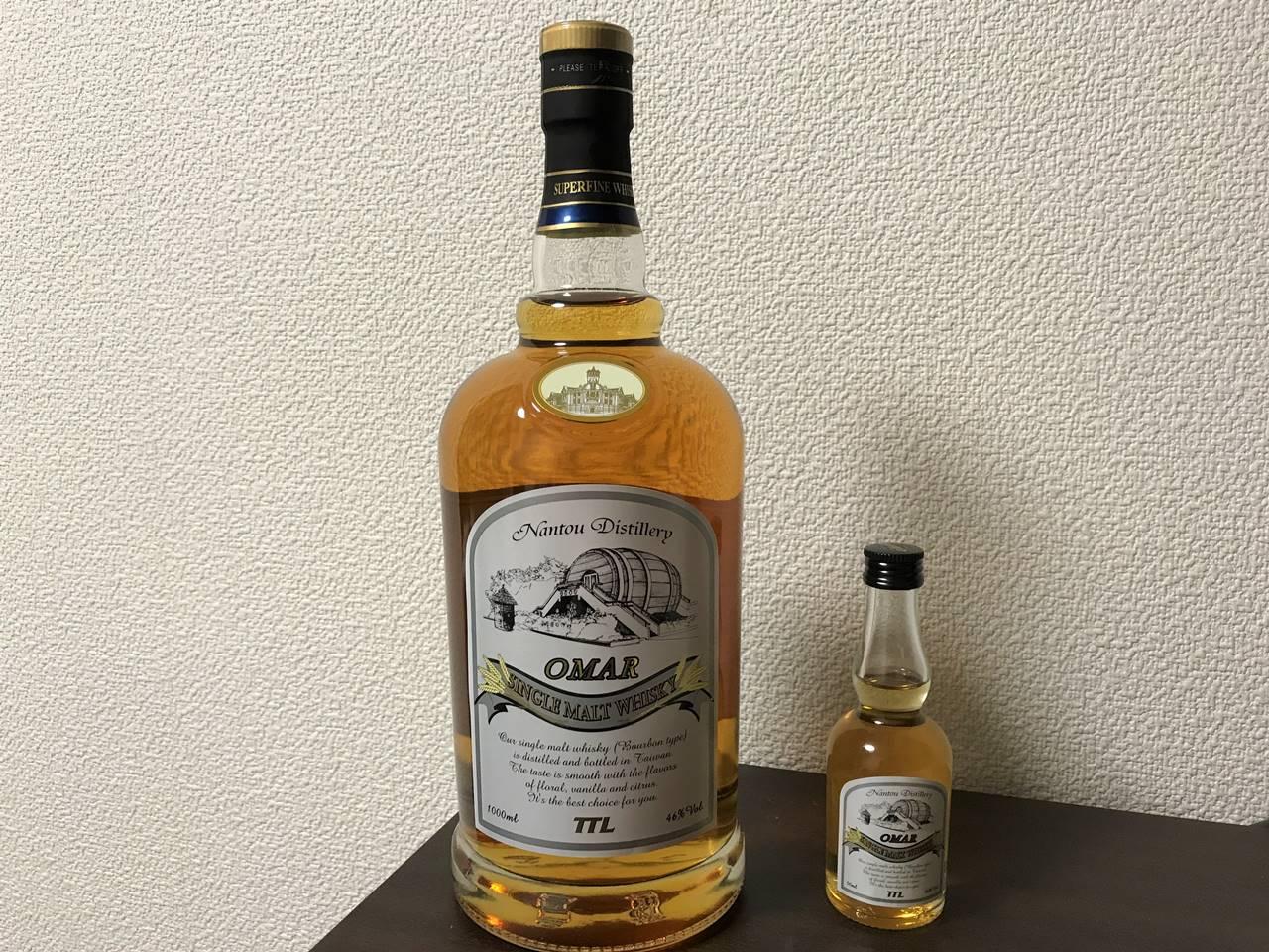 台湾ウイスキーOMAR