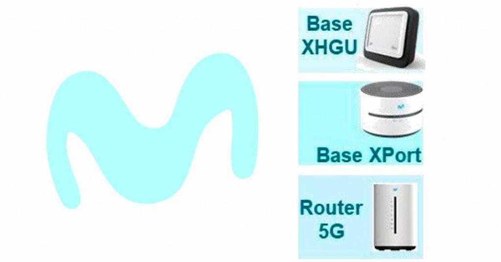 Movistar trabaja en un nuevo router Base XHGU, una Base Xport y un router 5G