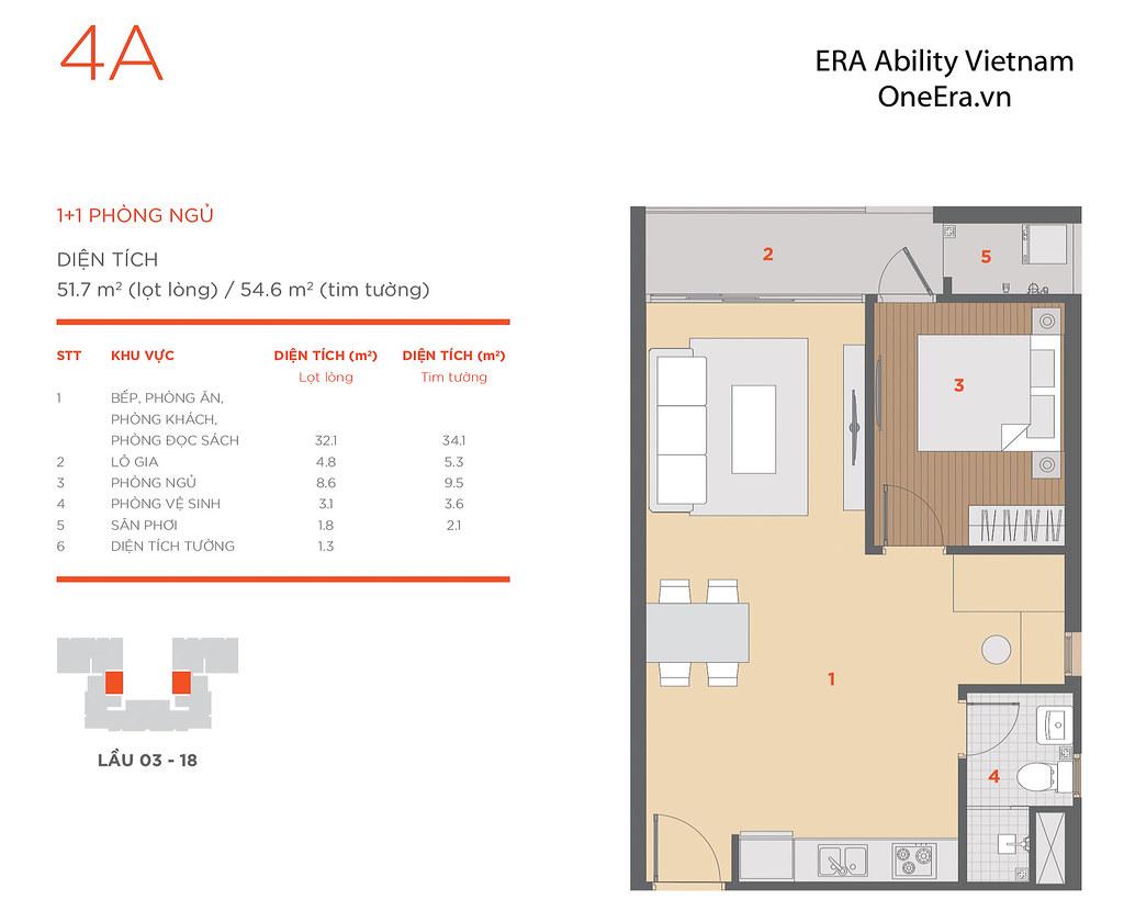 Mặt bằng tầng và thiết kế căn hộ Hausneo 51