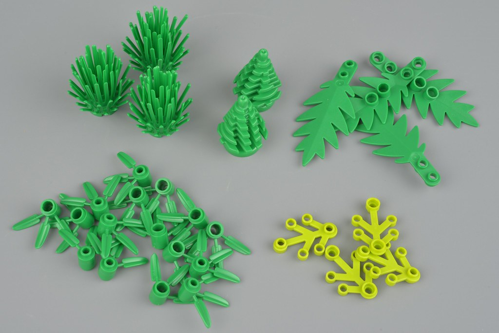 Review 40320 Plants From Plants Brickset Lego Set Guide And Database