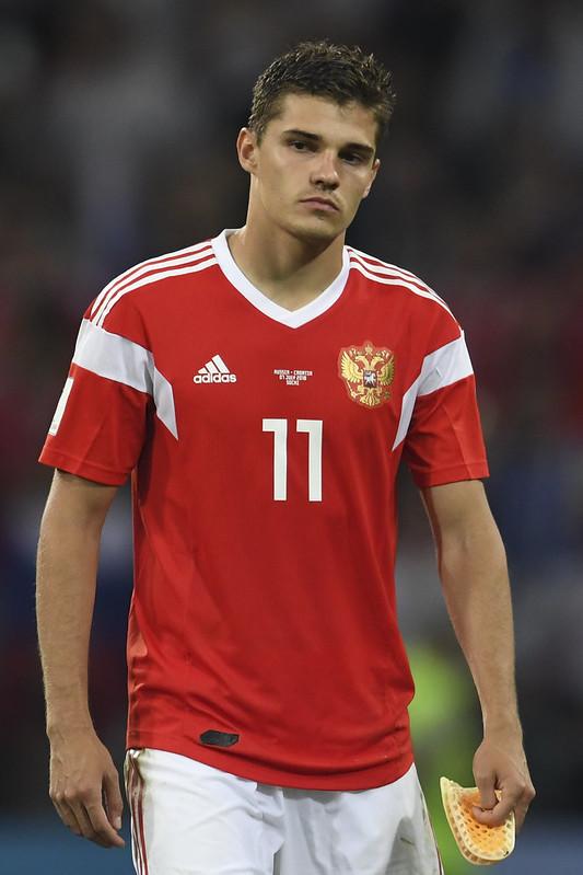 俄羅斯中場Roman Zobnin在落敗後表示他感到內心空虛。(AFP授權)