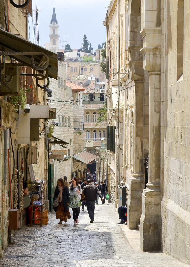 Via dolorosa de Jerusalén