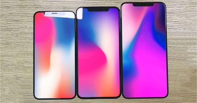 Filtrados los paneles frontales de los 3 iPhone de 2018: de 5,8 a 6,5 pulgadas