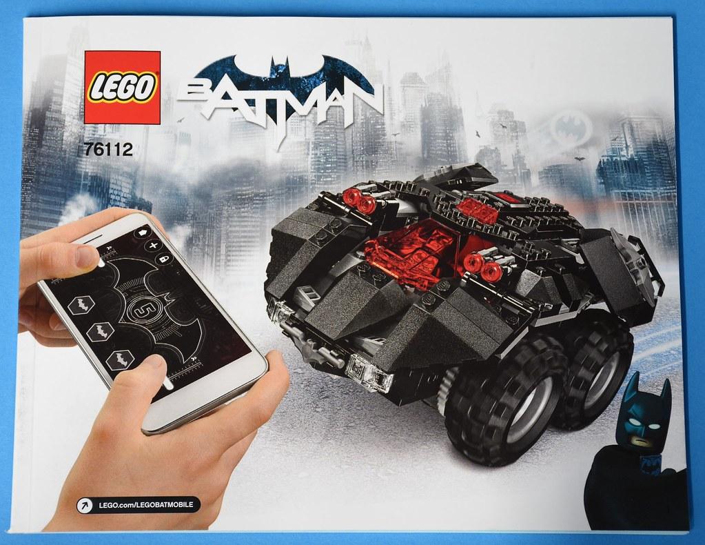 LEGO DC Comics Super Heroes 76112 App-Controlled Batmobile review