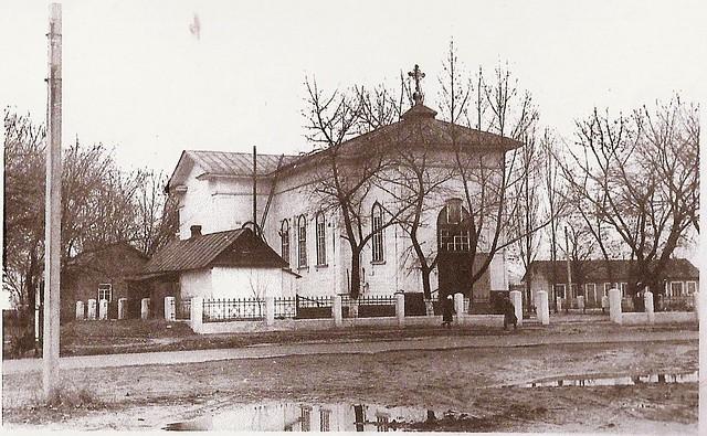Внешний вид Петропавловского храма 60 лет назад