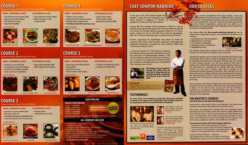 Brochure Chiang Mai Thai Cookery School 2