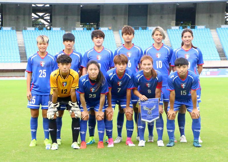 台灣女足友誼賽3比1擊敗香港。(足協提供)