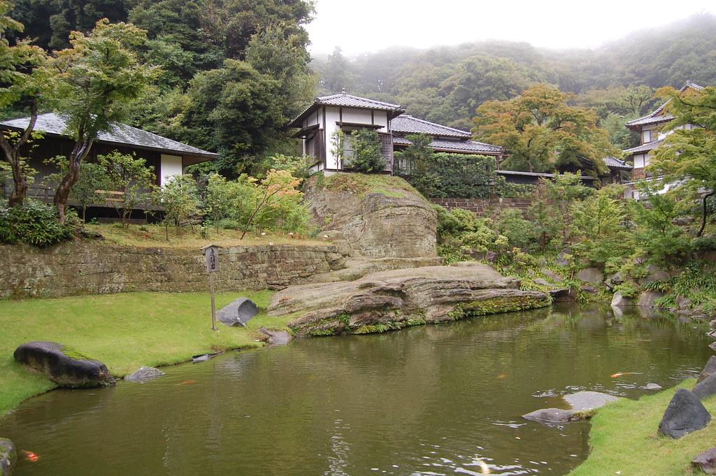 Zona superior de un templo en Kamakura