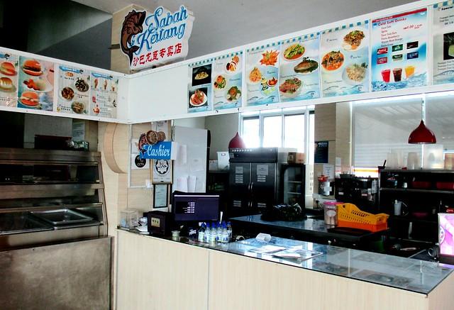 Sabah Kertang counter