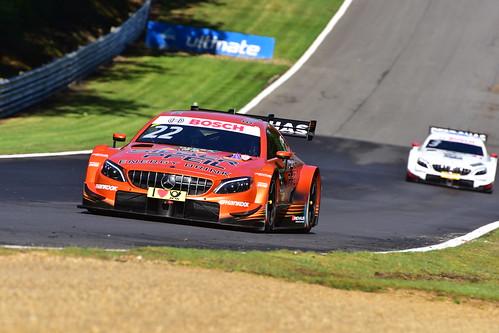 Lucas Auer, Mercedes-AMG C 63 DTM, DTM, Brands Hatch 2018